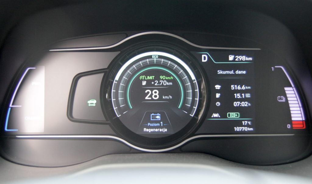 Hyundai Kona - rekuperacja