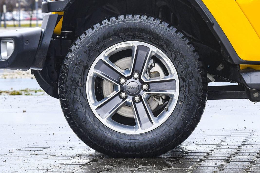 Jeep Wrangler Unlimited – koło