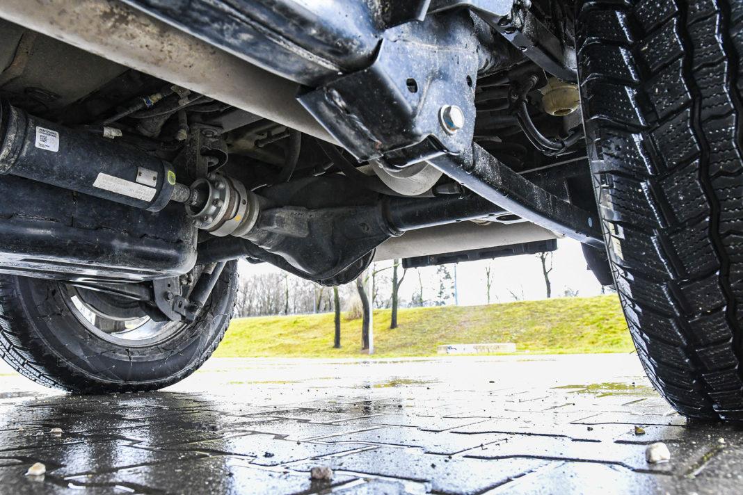 Jeep Wrangler Unlimited – zawieszenie
