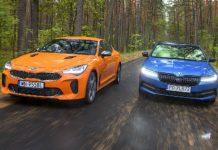 Kia Stinger GT Skoda Superb Sportline_
