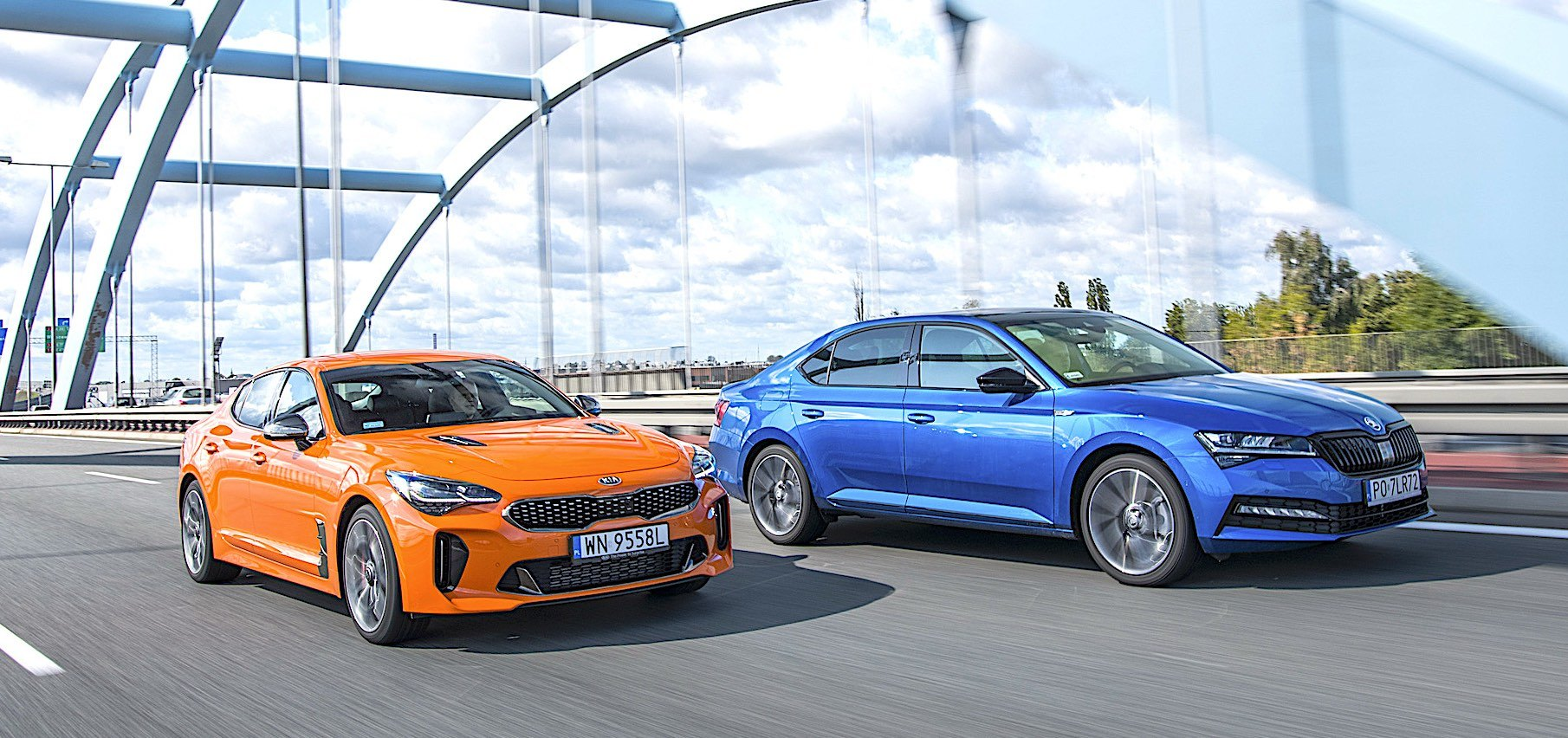 Kia Stinger i Skoda Superb