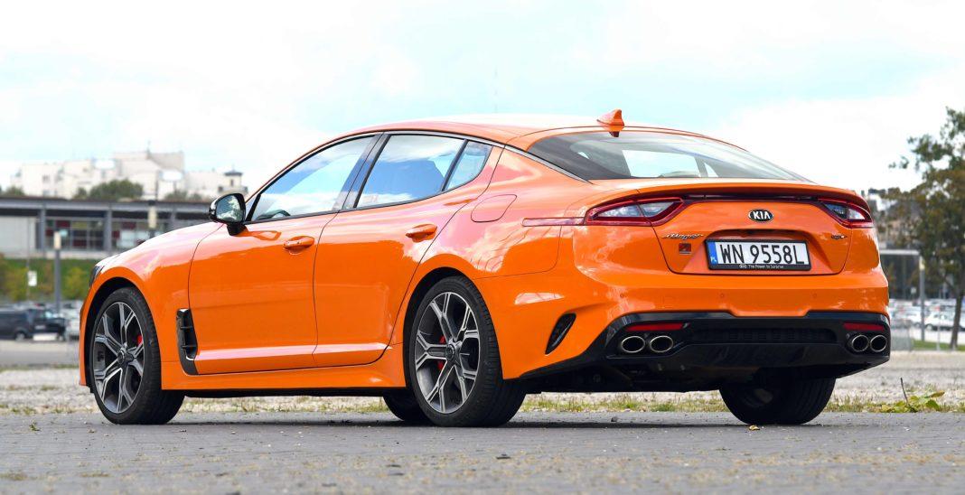 Kia Stinger 3.3 V6 GT - tył