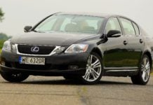 LEXUS GS 450h III 3.5 V6 345KM AT CVT WE6320R 08-2009