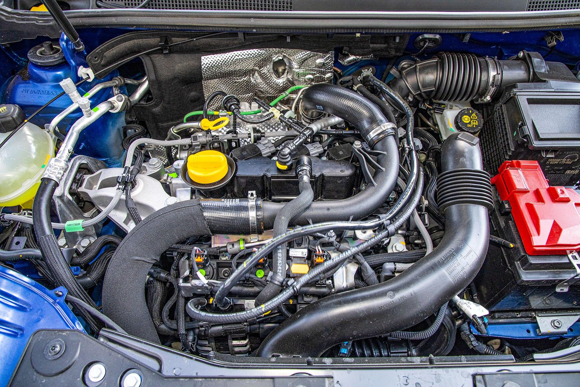 Dacia Duster 1.0 TCE 100 LPG test – silnik