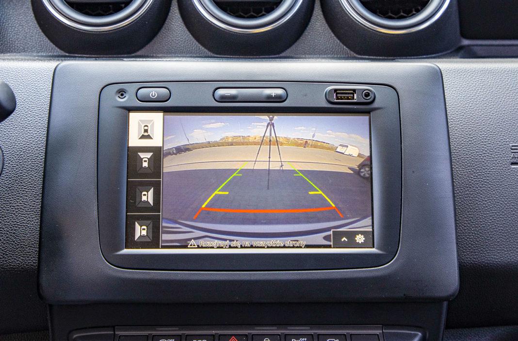 Dacia Duster 1.0 TCE 100 LPG test – kamera cofania