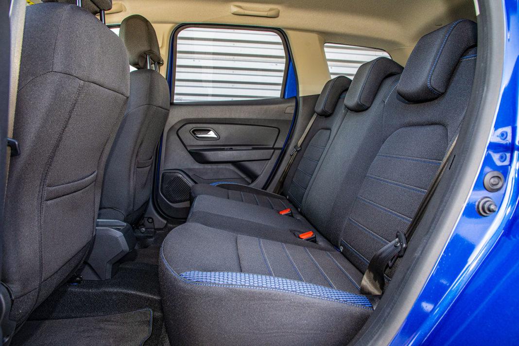 Dacia Duster 1.0 TCE 100 LPG test – kanapa