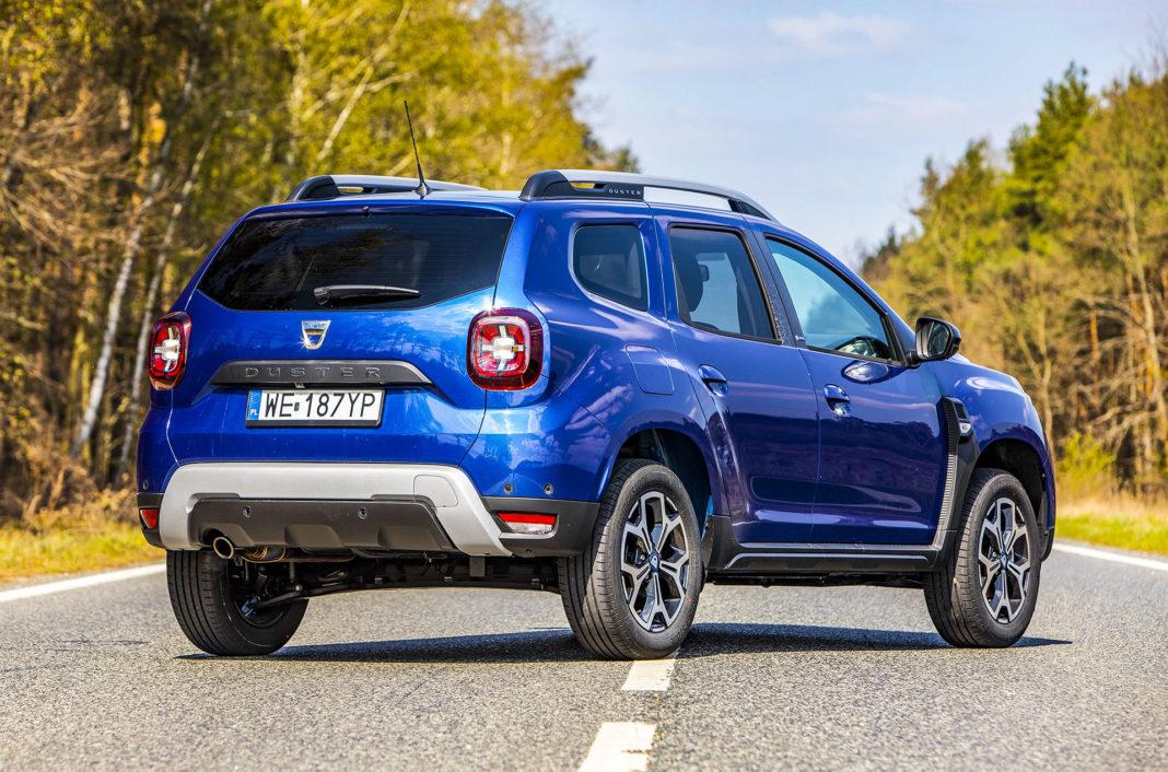 Dacia Duster 1.0 TCE 100 LPG test – tył