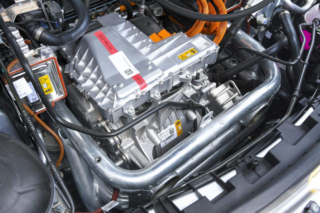 Mercedes EQC 400 - silnik