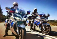Policja motocykle Yamaha