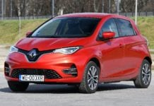 RENAULT Zoe I FL 52kWh R135 Intens 135KM 1AT E-Shifter FWD WE003XR 03-2020