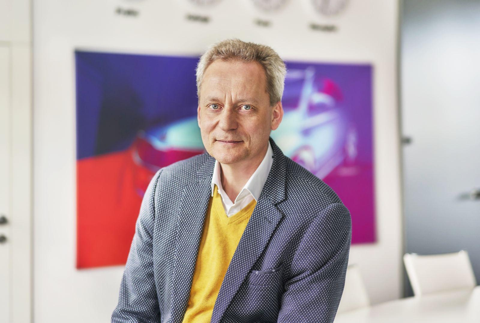 Christian Strube, członek zarządu Skody odpowiedzialny za rozwój techniczny