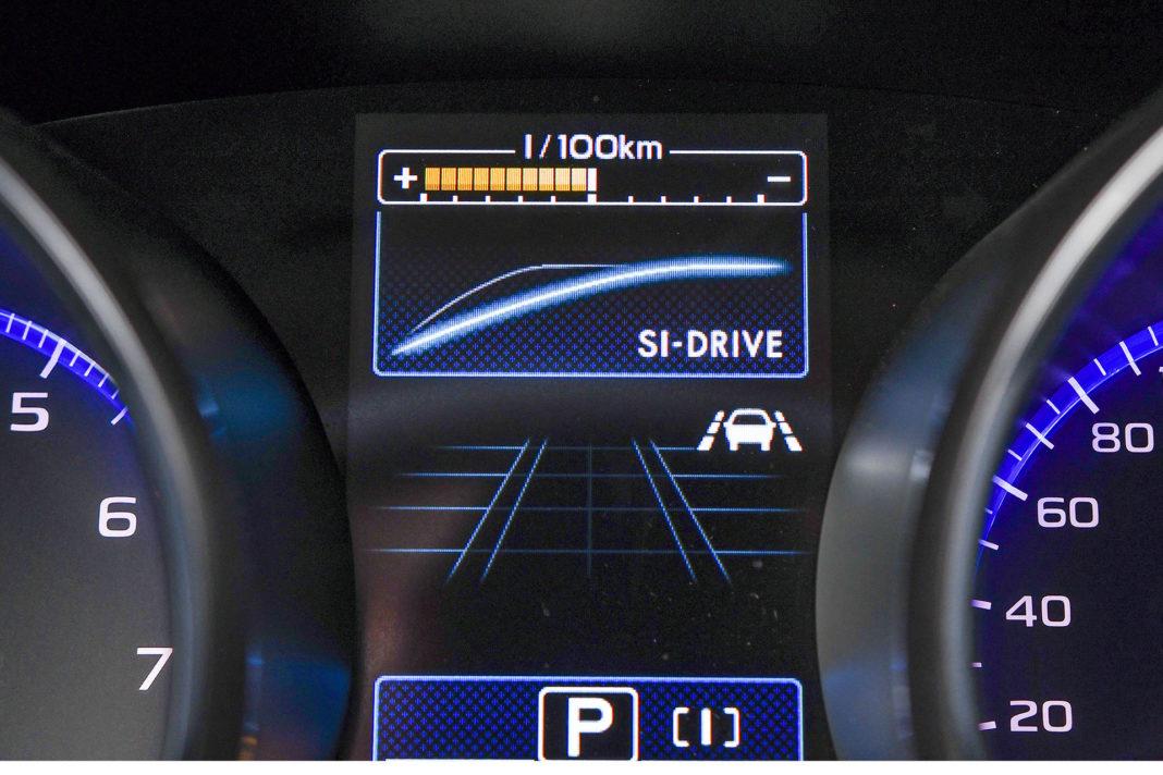 Subaru Outback - zmiana pracy pedału gazu