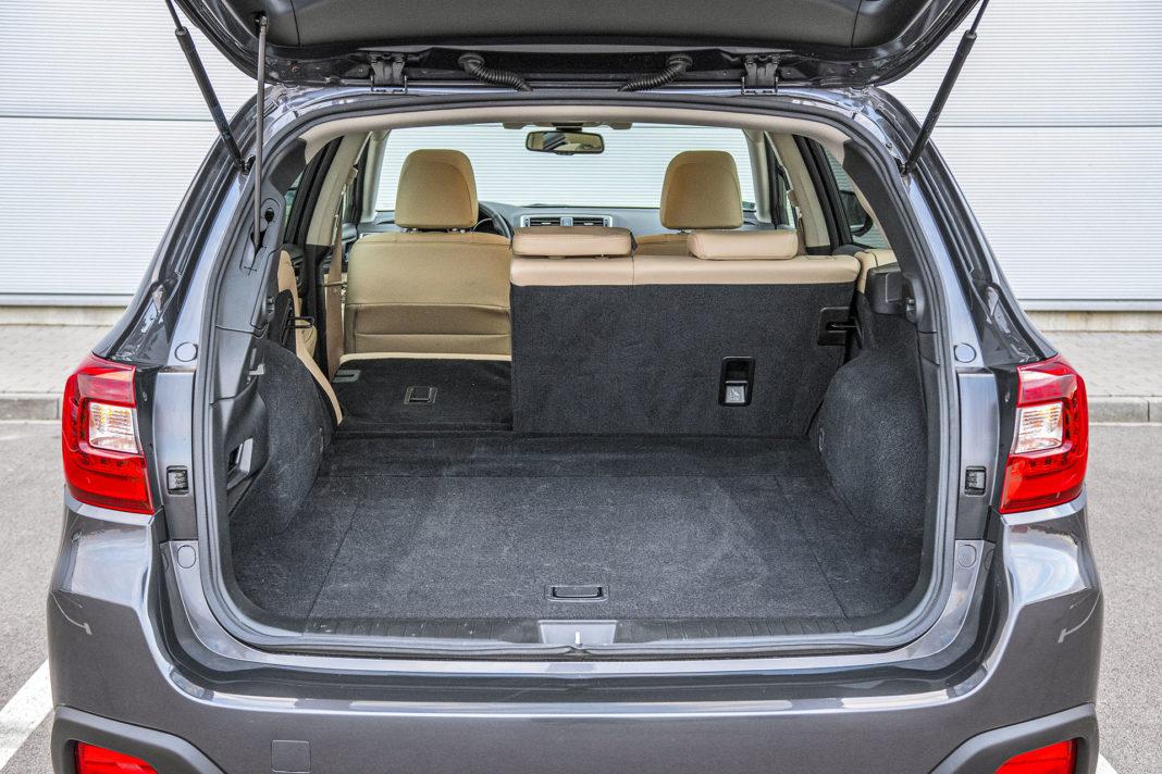 Subaru Outback - bagażnik