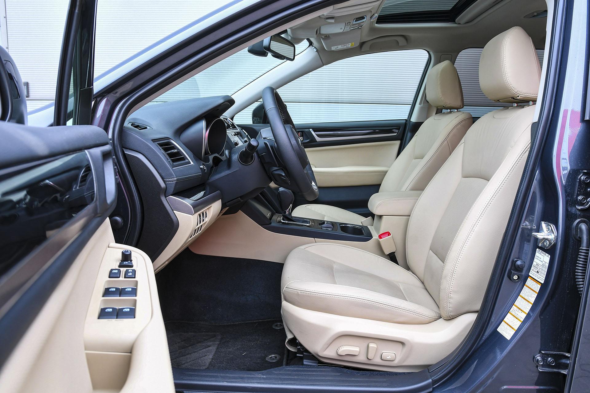 Subaru Outback - fotele