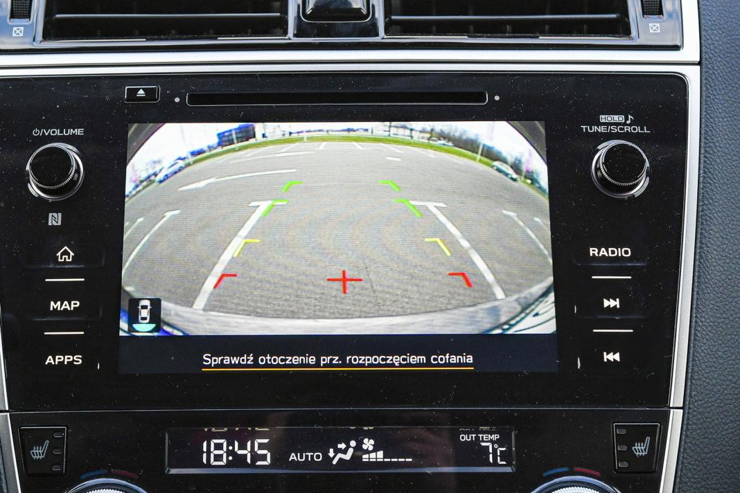 Subaru Outback - kamery