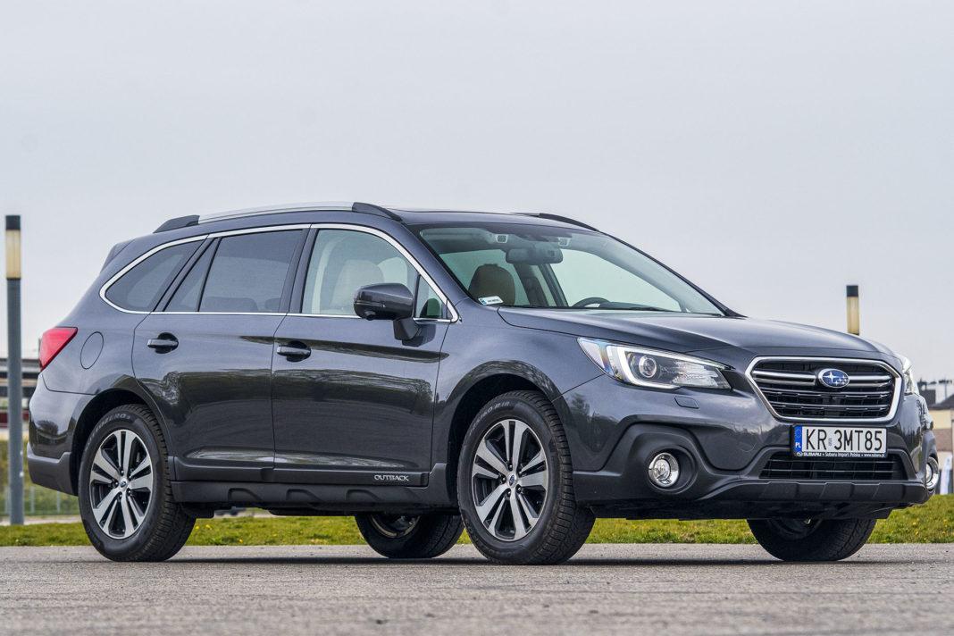 Subaru Outback - przód