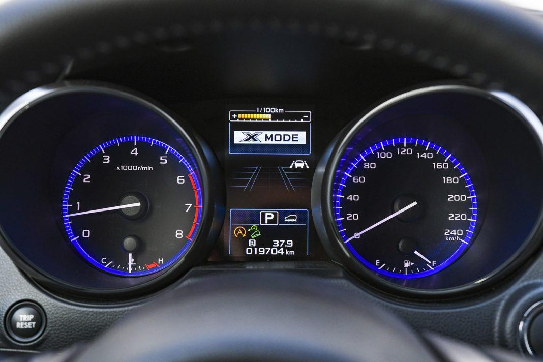 Subaru Outback - tryb terenowy