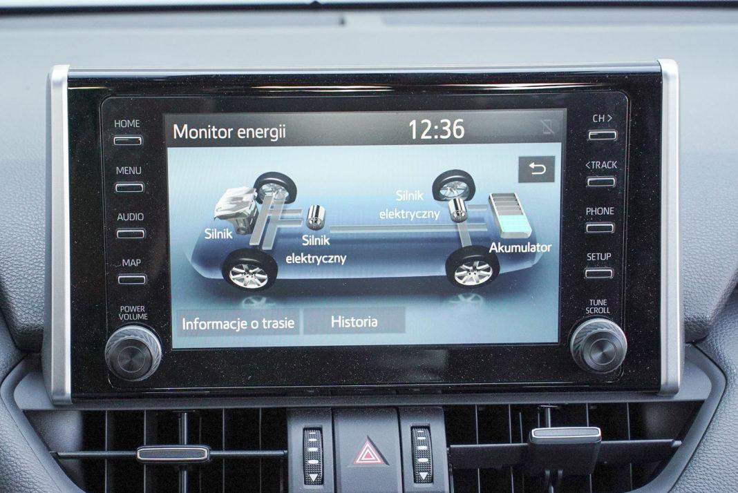 Toyota RAV4 Hybrid – ekran