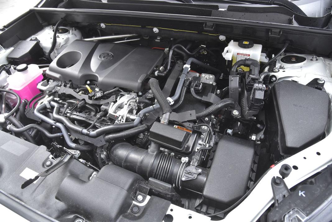 Toyota RAV4 Hybrid – silnik