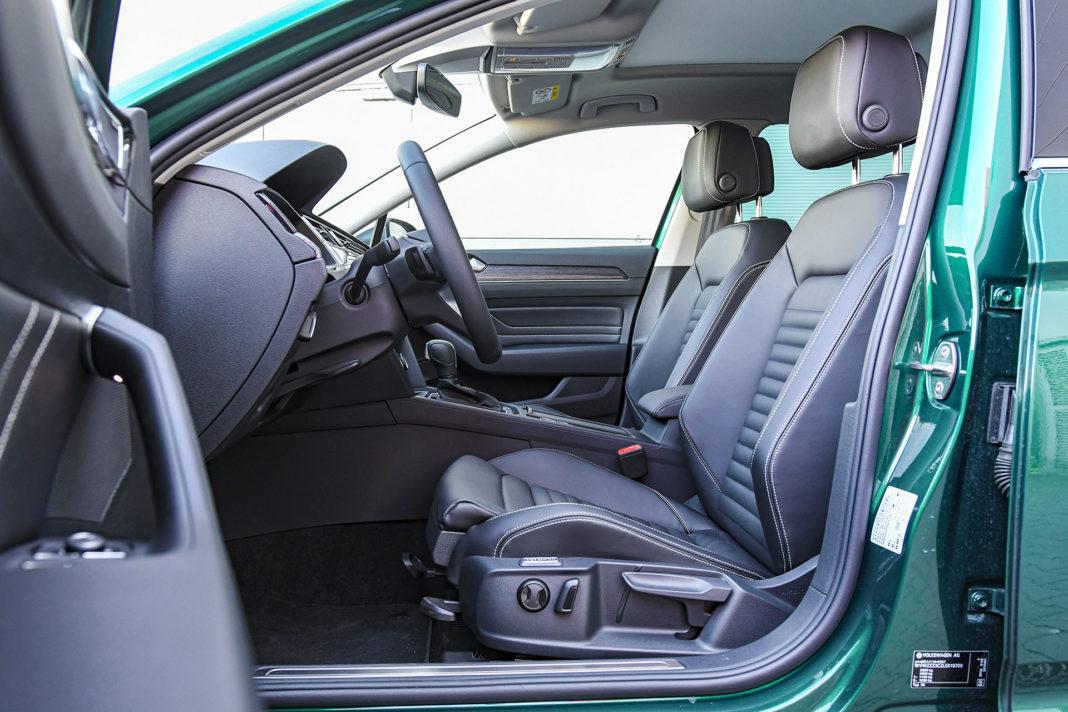 Volkswagen Passat Alltrack - fotele