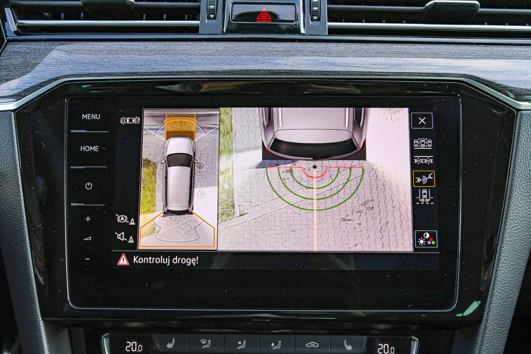 Volkswagen Passat Alltrack - kamery