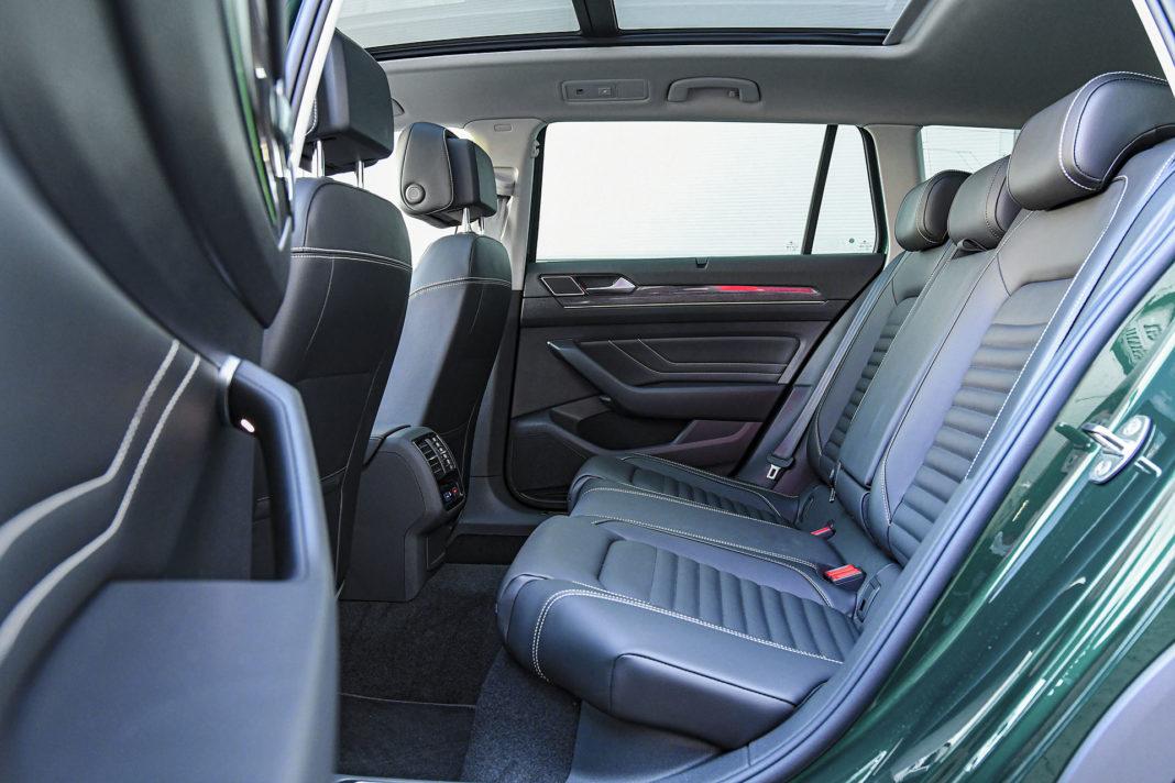 Volkswagen Passat Alltrack - kanapa