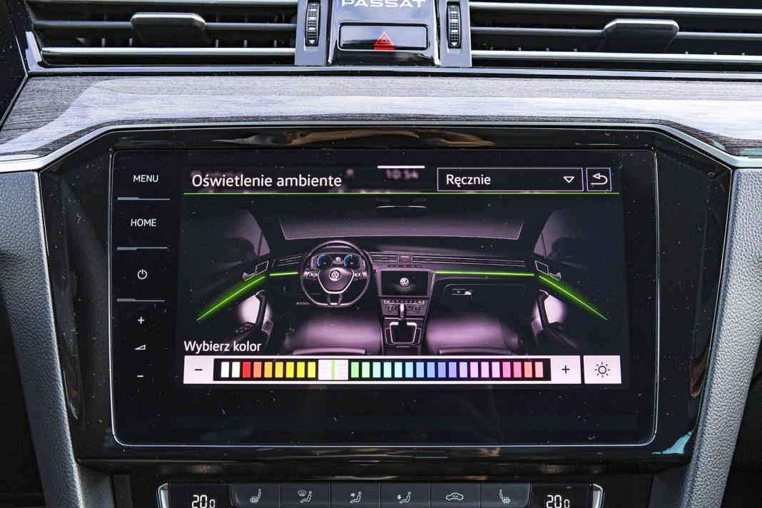 Volkswagen Passat Alltrack - oświetlenie nastrojowe