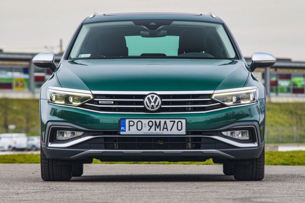 Volkswagen Passat Alltrack - przód