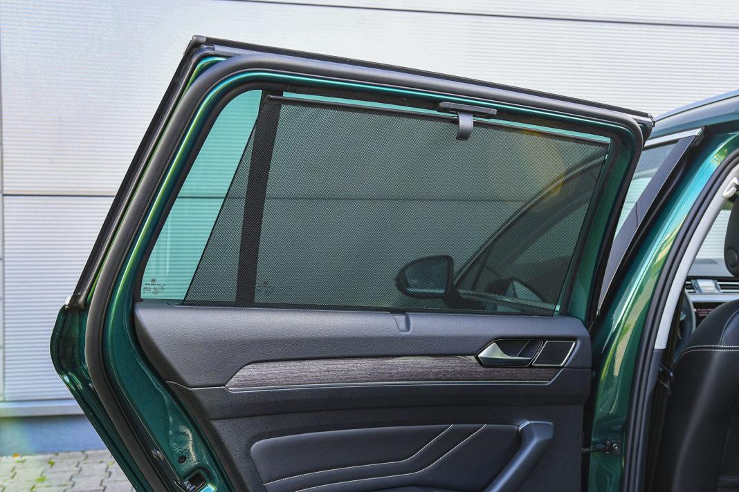 Volkswagen Passat Alltrack - rolety przeciwsłoneczne