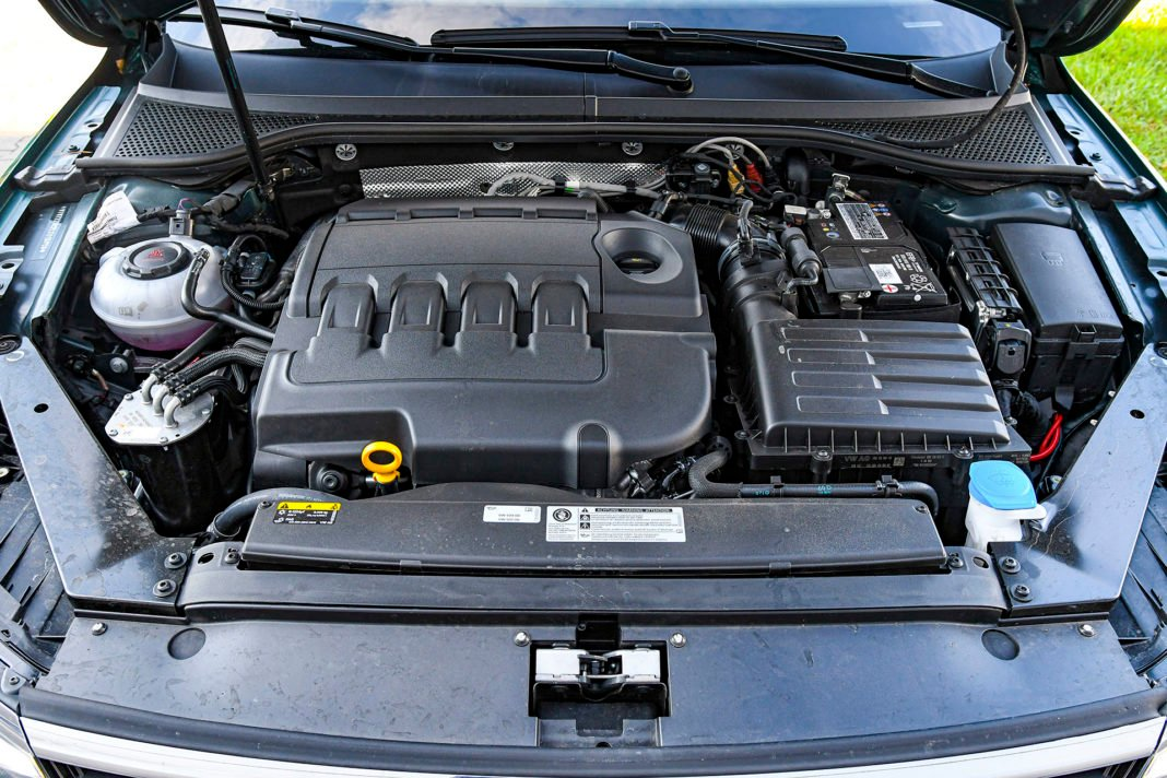 Volkswagen Passat Alltrack - silnik