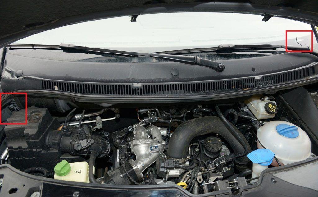 Volkswagen T5 - gdzie jest VIN