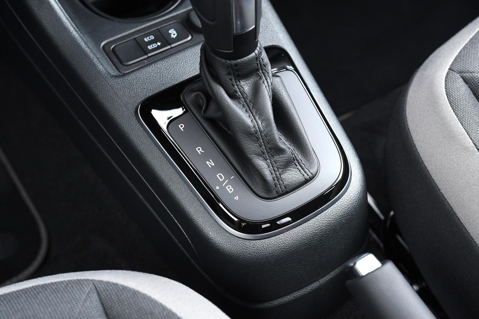 Volkswagen e-up - dźwignia skrzyni
