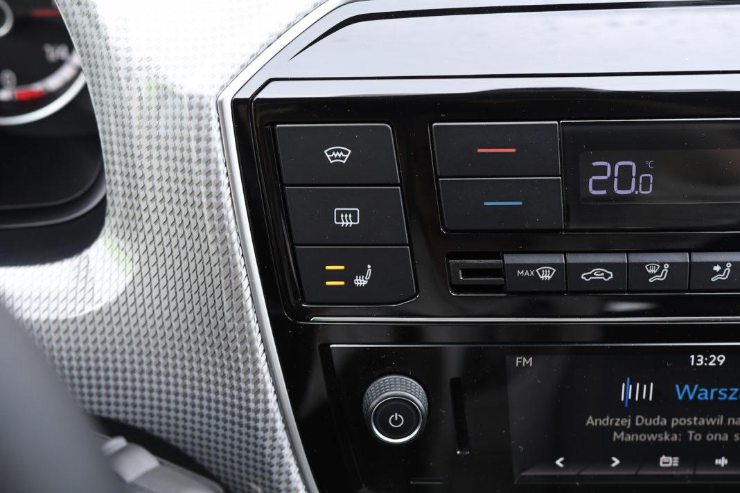 Volkswagen e-up - klimatyzacja