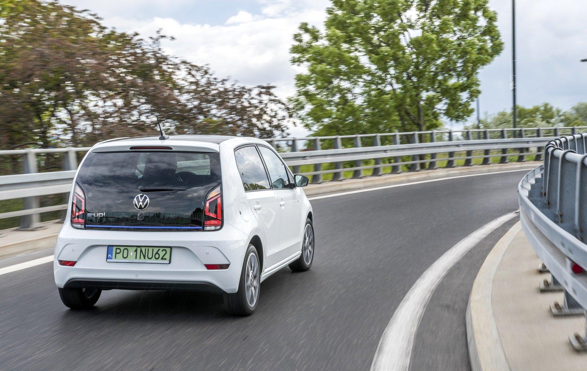 Volkswagen e-up - prowadzenie