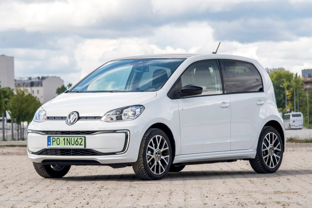 Volkswagen e-up - przód-1