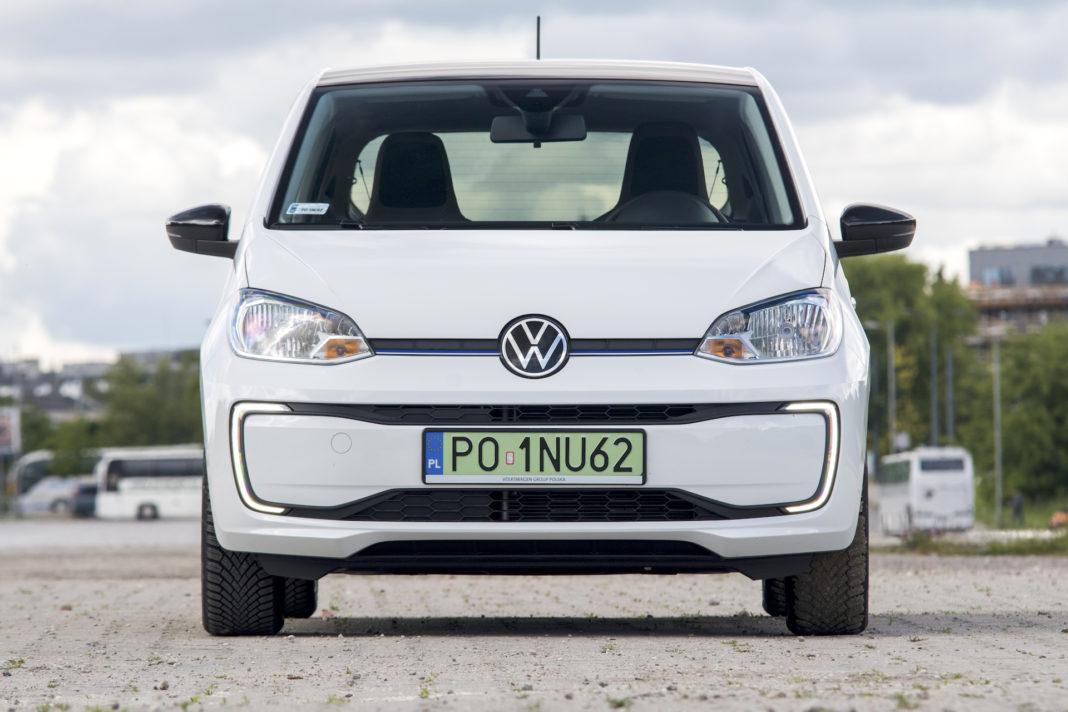 Volkswagen e-up - przód