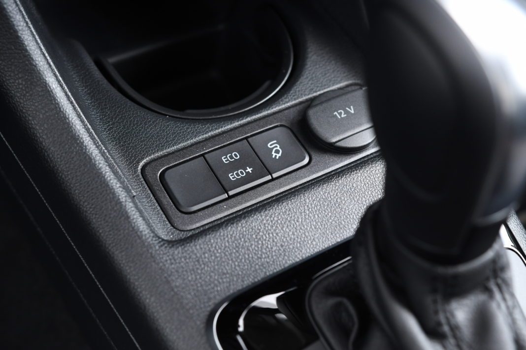 Volkswagen e-up - tryby jazdy