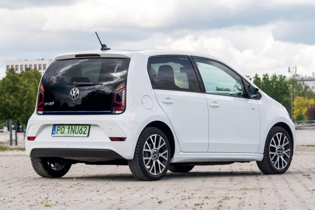 Volkswagen e-up - tył