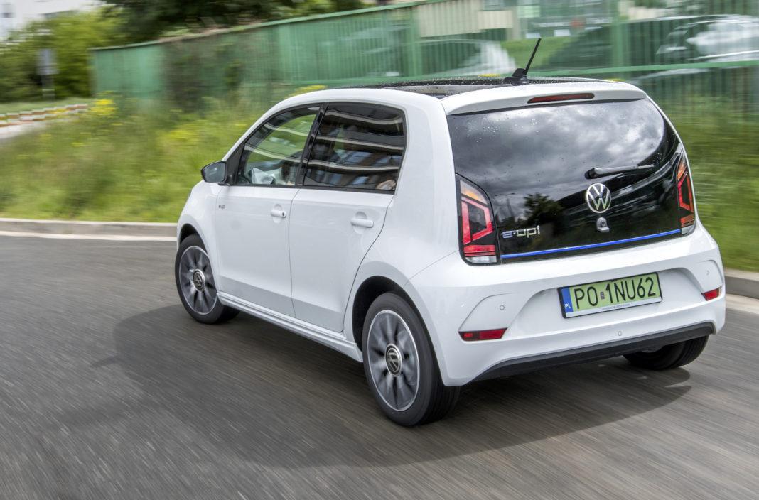 Volkswagen e-up -zasięg