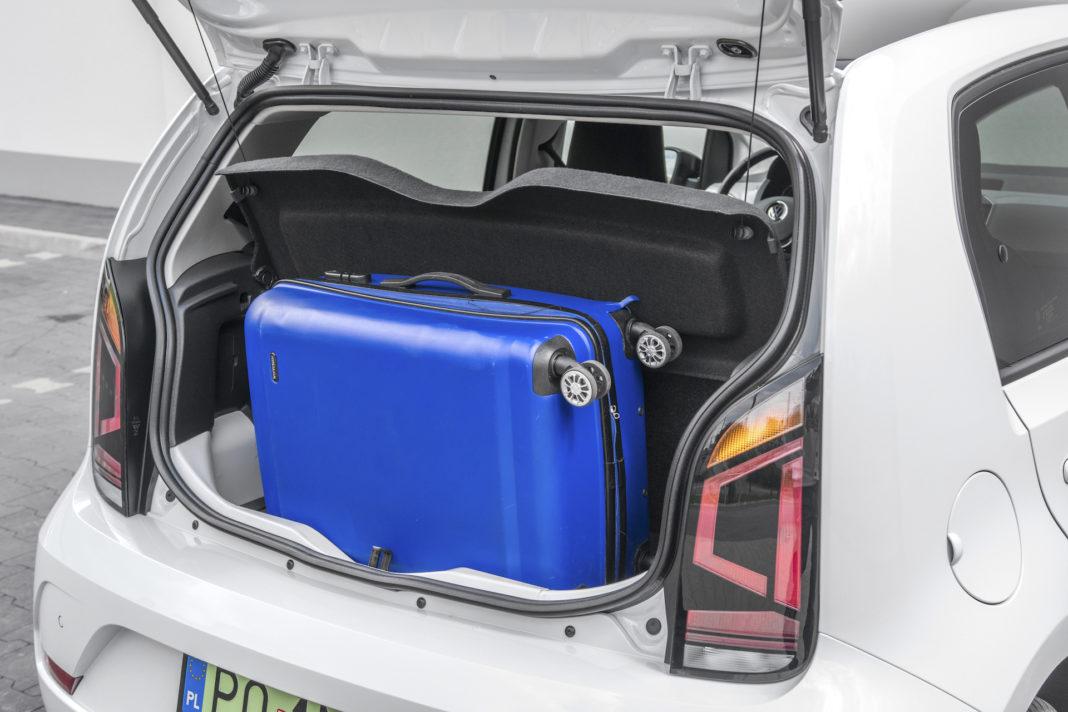 Volkswagen up - bagaznik