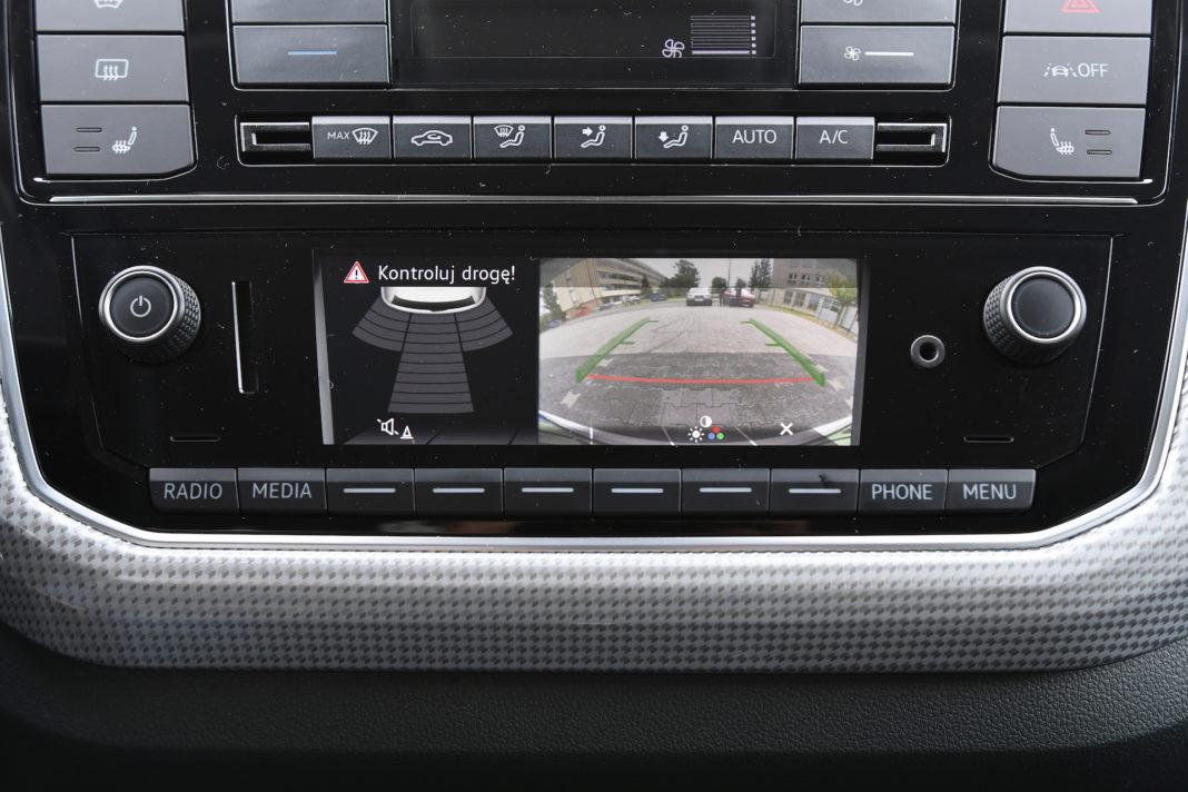 Volkswagen up - kamera