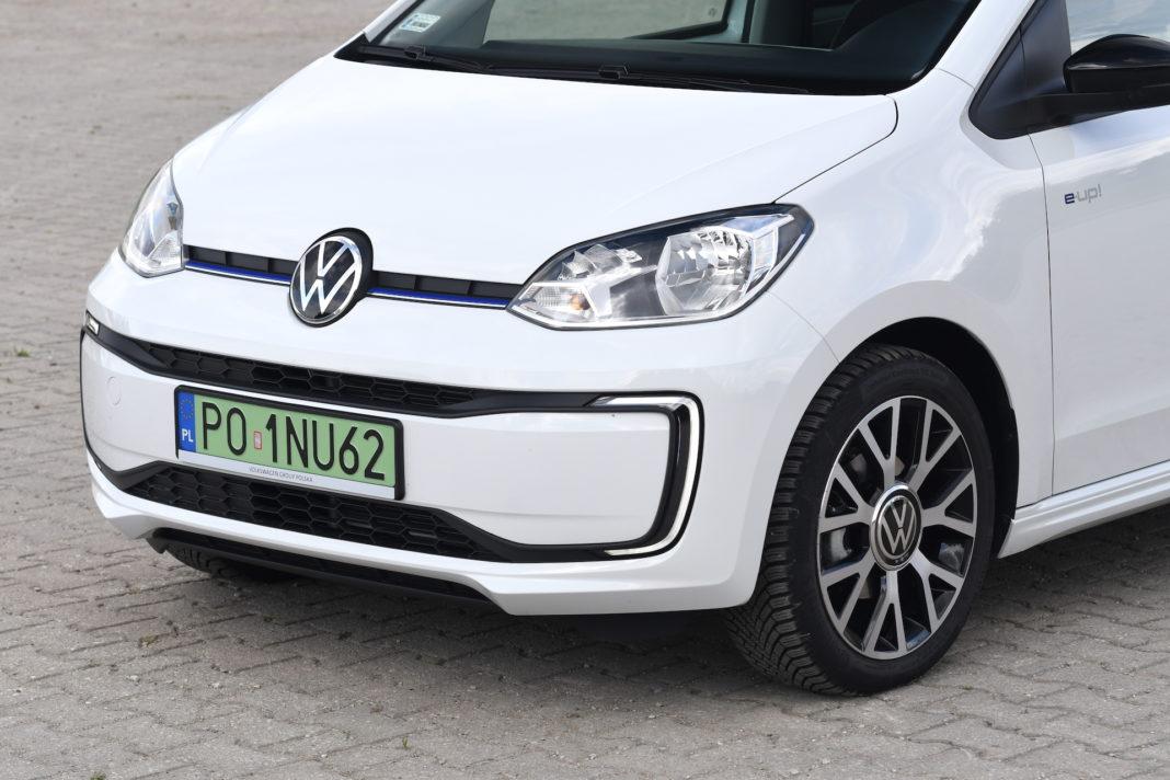 Volkswagen up - swiatla do jazdy dziennej