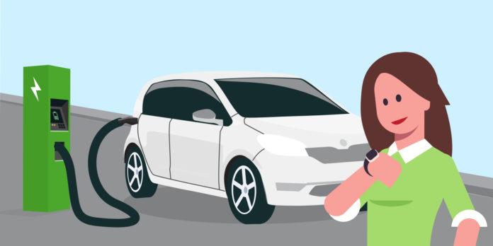 samochody elektryczne długi czas ładowania