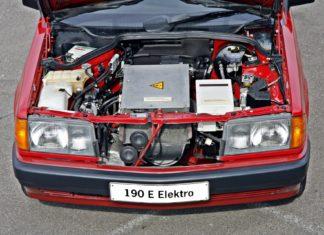 Elektryczny Mercedes W201. Poznaj model 190 E Elektro