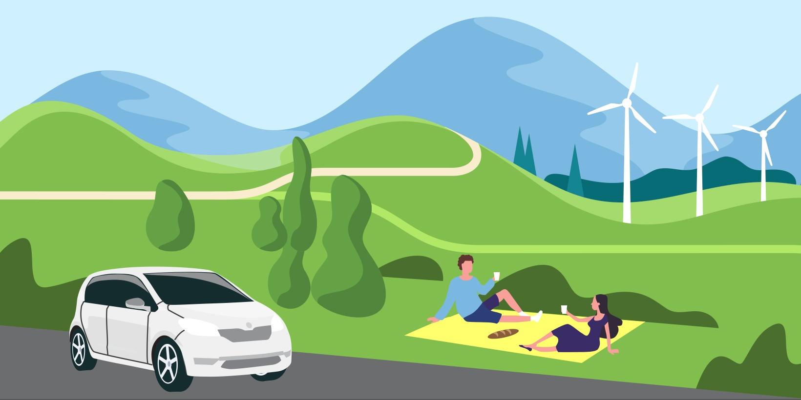 samochody elektryczne klimat