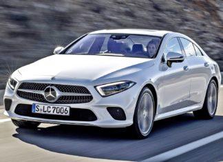 Mercedes CLS z nowymi silnikami i multimediami