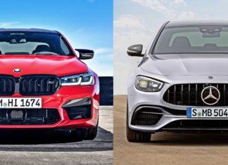 BMW M5 i Mercedes-AMG E 63 po liftingu. Jak zmienili się dwaj główni rywale?