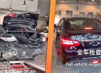 Naprawa auta po wypadku. Zobacz, jak to się robi