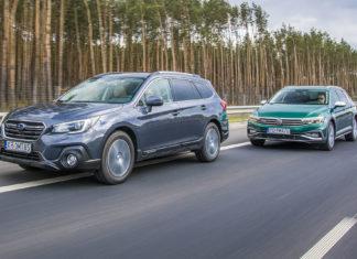 Subaru Outback, Volkswagen Passat Alltrack - PORÓWNANIE