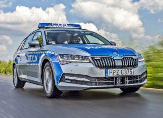 Nowa broń polskiej policji: 272-konna Skoda Superb